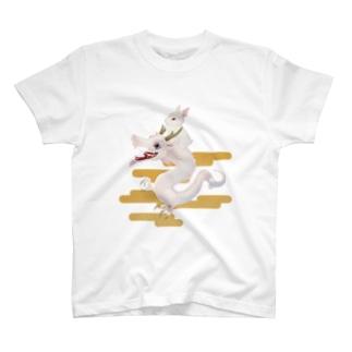 兎と龍 T-shirts