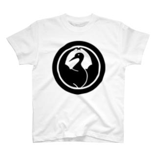 まっちょ鶴の丸 T-shirts