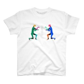 【NANN TO NAKU】ひかれあう T-shirts