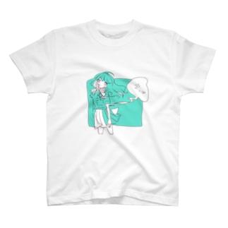 空っぽガール T-shirts