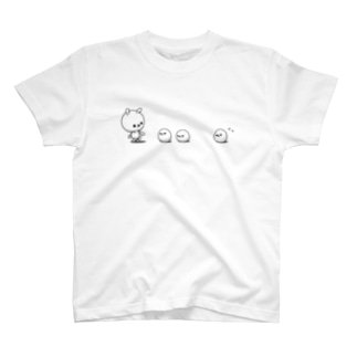ともぞー(ひねくれうさぎ)のひねくれうさぎ T-shirts