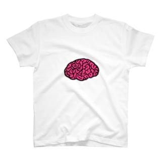 脳Tシャツ脳ライフ T-shirts