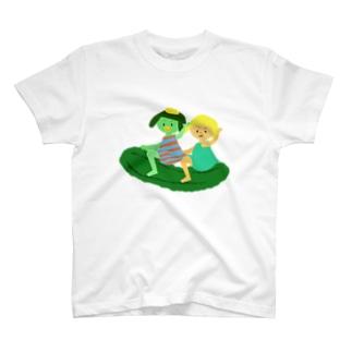 キューカンバー・ガール(ライドン) T-shirts