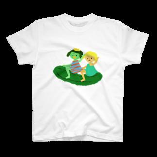 キューカンバー・ガールのキューカンバー・ガール(ライドン) T-shirts