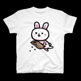 石垣りょうのうさぎ 散るモカ也 T-shirts
