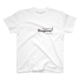 アンオフィシャル(淡色用) T-shirts