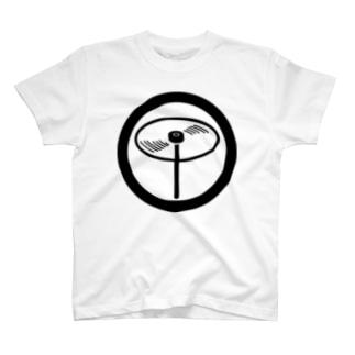 丸に竹トンボー T-shirts