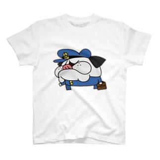 パグ男子中学生 T-shirts