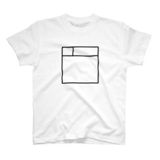 サークルカット風 T-shirts