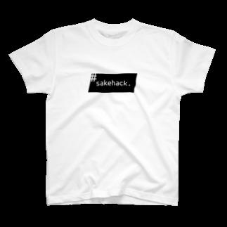 SakehackのSakehack 2018 T-shirts