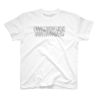 「百人一首 99番歌 後鳥羽院」カナクギフォントL T-shirts