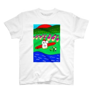 歯と飛行機 Tシャツ