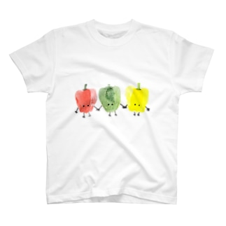 ピーマントリオ T-shirts