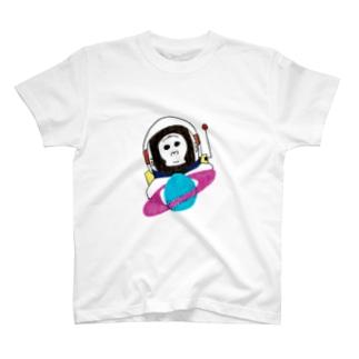 SpaceGorilla-スペイスゴリラ T-shirts
