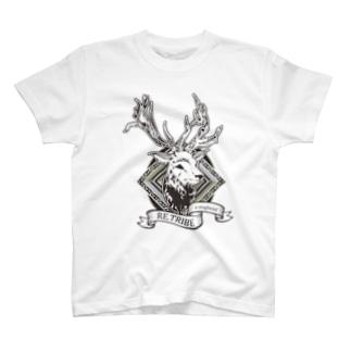 a staghead T-shirts