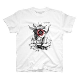 Saki Murakami X Skateboarding Japan T-shirt T-shirts