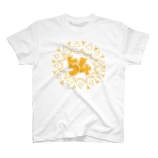 gogoteam54の主張強めの54マーク T-shirts