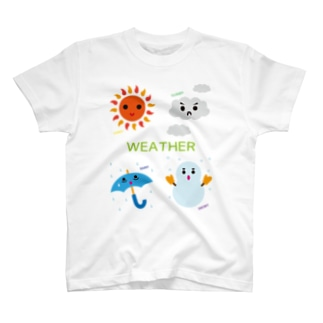 WEATHER T-shirts