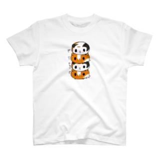 ぱんにくやしゃいぱん T-shirts