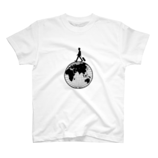 トラベラー(地球儀) T-shirts
