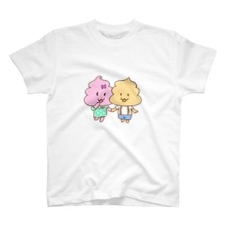 うんこちゃんの洋服 T-shirts