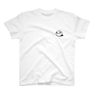 凛々しいモチゾーワンポイント Tシャツ