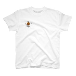 【NANN TO NAKU】ばすけまん T-shirts