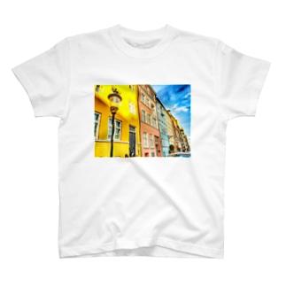 pastel Nyhavn  T-shirts