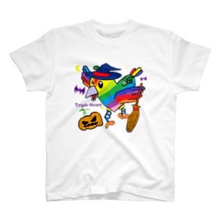 トリハー君(ハロウィン) T-shirts