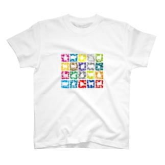 デザイナーズマンションに入居したひつじ君達 T-shirts