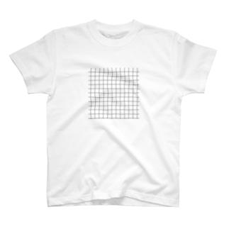◽️ 方 眼 紙 T-shirts