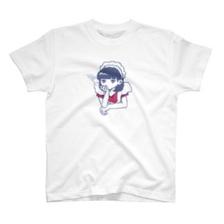 メイドさん(煙草) T-shirts