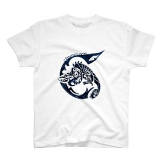 にしのひつじかいのラメカメレオン2 T-shirts
