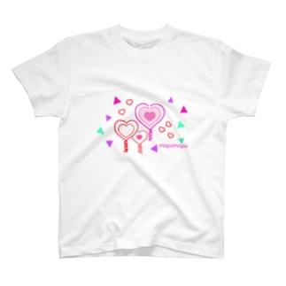 ポップハート T-shirts
