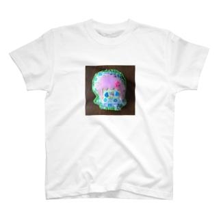 リイリフェルトマスコットぬいぐるみあおはな T-shirts