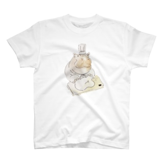 カバのパン屋 T-shirts