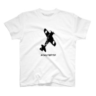 ゼロ戦52型 日本の魂001 T-shirts