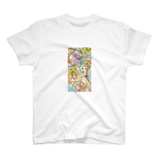 プリンセスコラージュ T-shirts