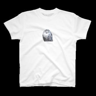 s_k_rの梟 T-shirts