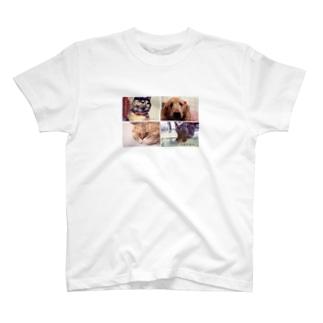 かわいいなかまたち2 T-shirts