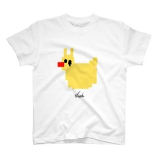 うさひるブロック T-shirts