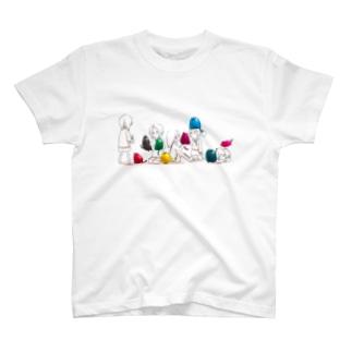 メタルにゃんことJK T-shirts