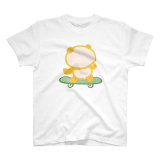 スケボーパンダ T-shirts