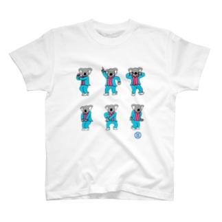 Disco de コアラちゃん T-shirts