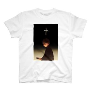 信仰する人 T-shirts