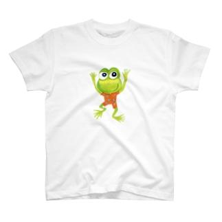 かえるちゃん T-shirts