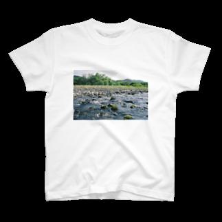 水辺のishikoro T-shirts