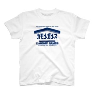 カモメガメスTシャツ T-shirts
