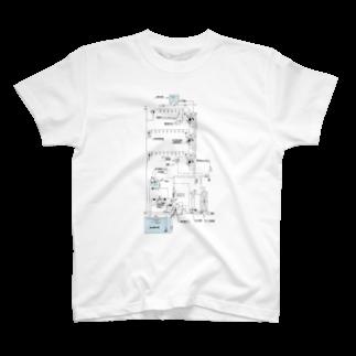 Ginjiの系統図 T-shirts