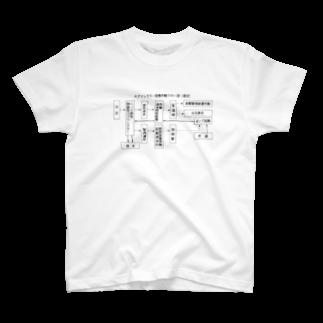 Ginjiの作動フロー T-shirts